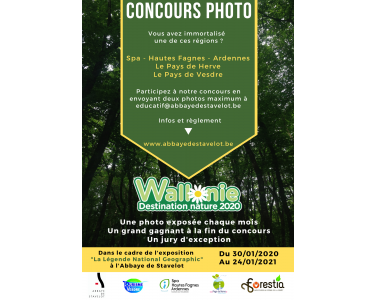 Concours photo - Wallonie Destination Nature 2020